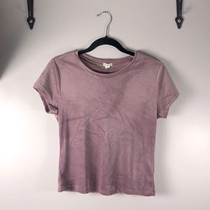 🥳PRICE DROP, Garage Velvet Rose colour top